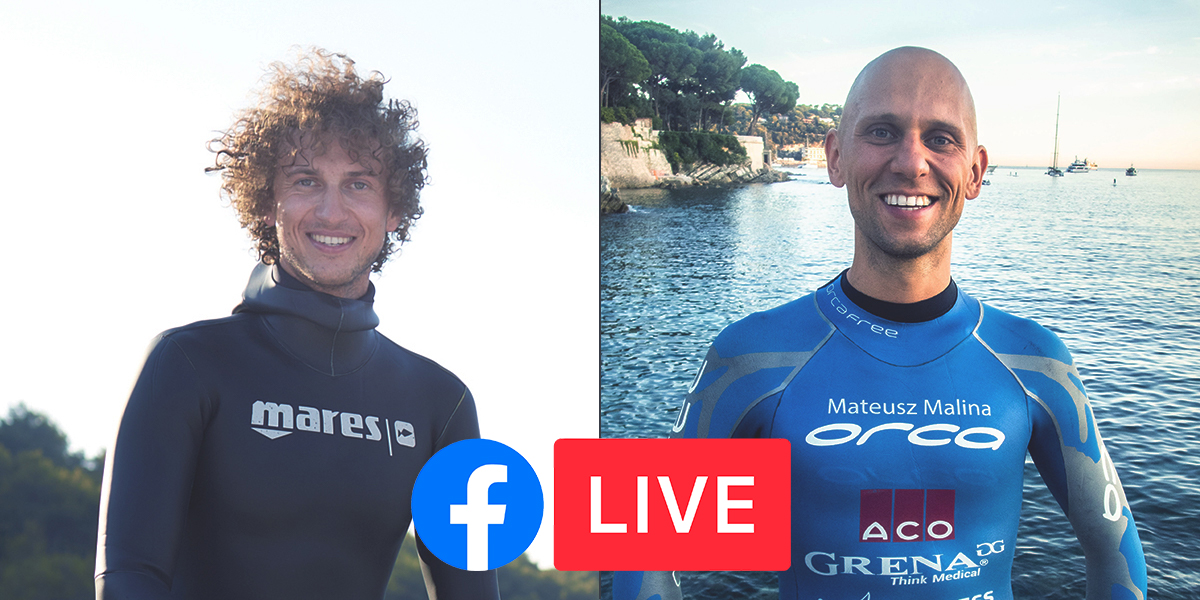 Freedive Training Facebook Live
