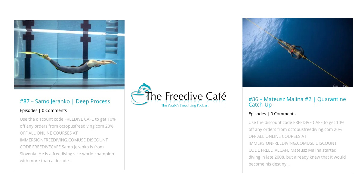 freedive training at freedive cafe